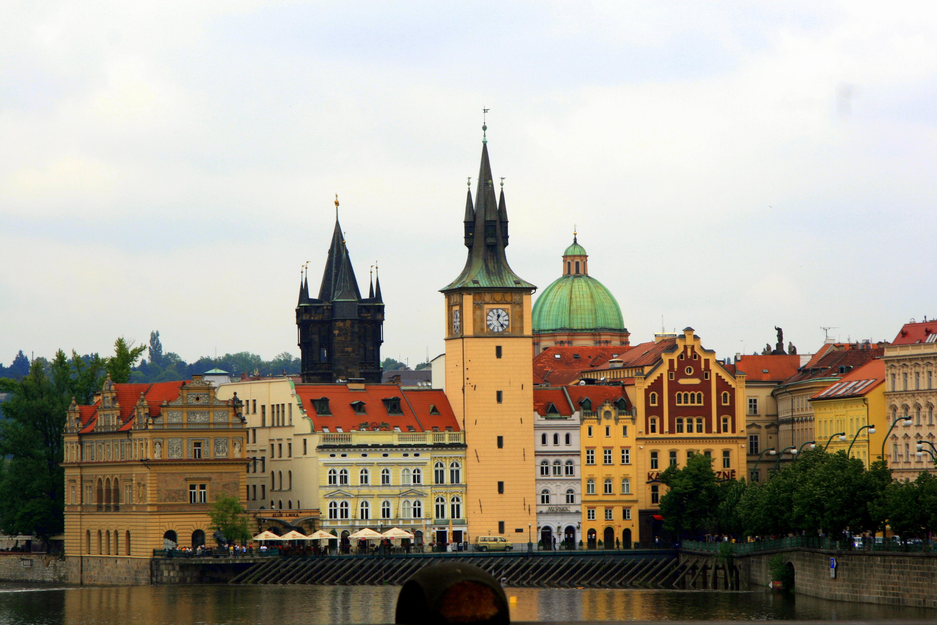 אביב בפראג
